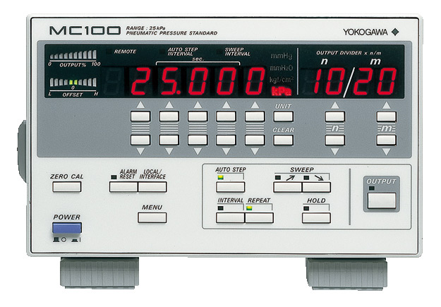 Manometro de presion pneumatica MC100 yokogawa