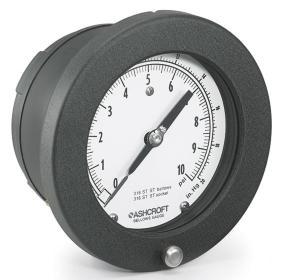 manometro de baja presion de diafragma 1187
