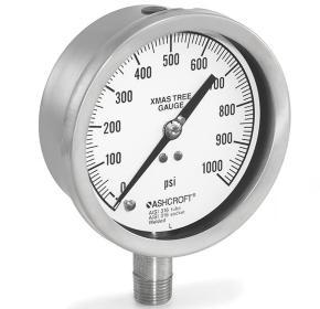 manometro de presion conexion arbol de navidad 1020